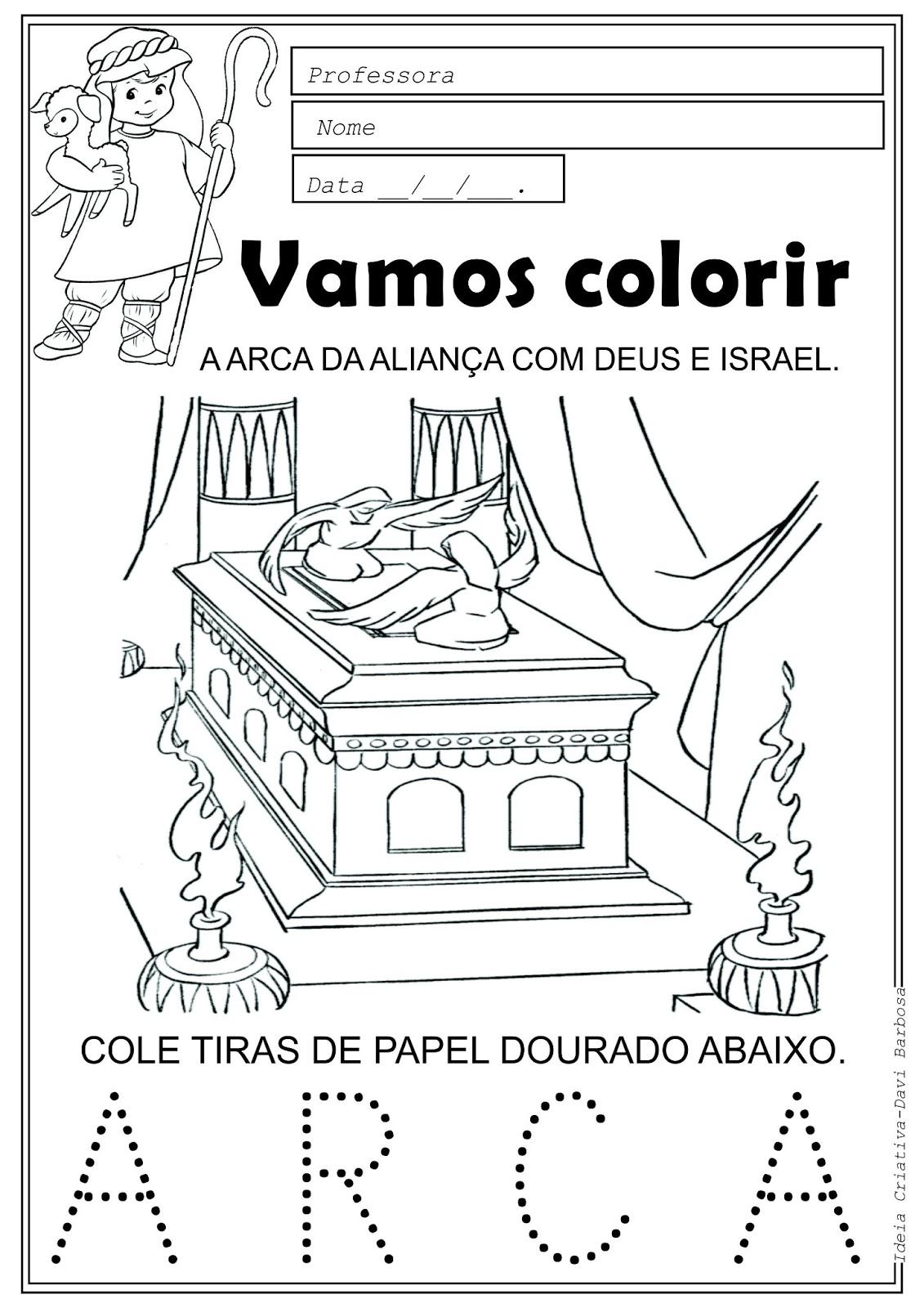 adalia helena lição 12 davi traz a arca a jerusalém subsidio
