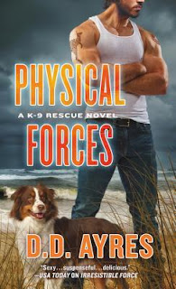 romantic suspense, romance novel covers, Physical Forces by D.D. Ayres