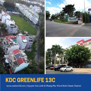 Bán đất nền biệt thự KDC Greenlife 13C