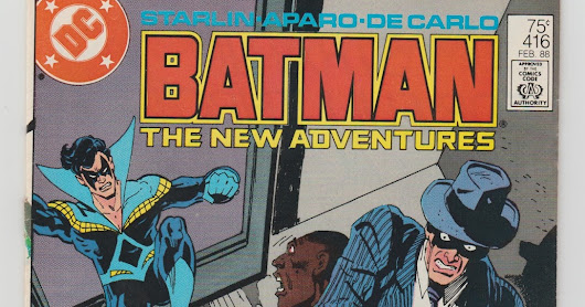 Comic of the Day: Batman The New Adventures No.416