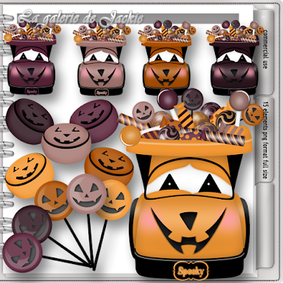 Wima4ever blog train - Spooky Halloween - CU freebie