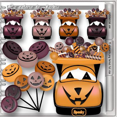 Wima4ever blog train - Spooky Halloween - CU freebie