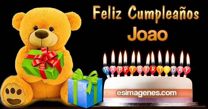 Feliz Cumpleaños Joao