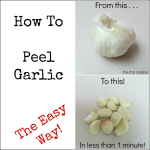 How to Quickly Peel Garlic