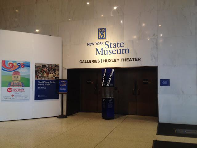 New York State Museum lobby