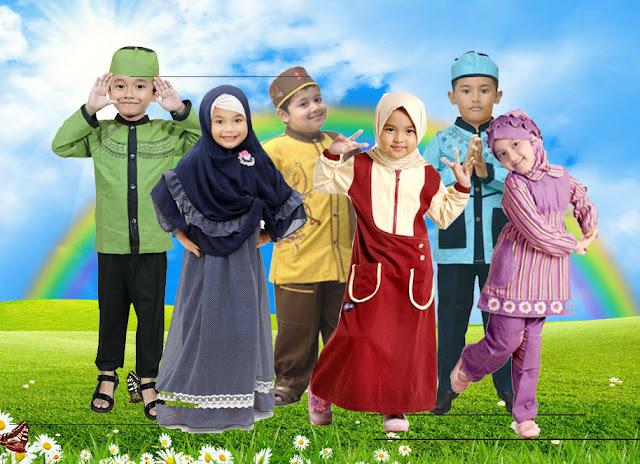 Peluang Usaha Pembuatan Baju Muslim Anak
