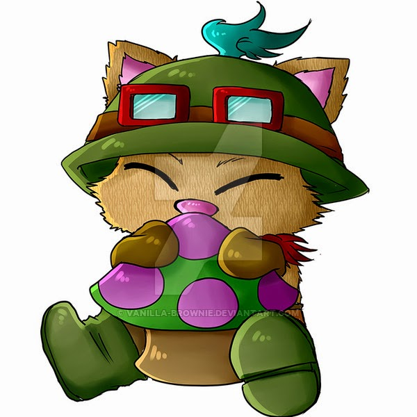 Teemo chibi cartoon