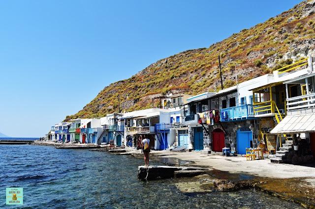 Klima, isla de Milos (Grecia)