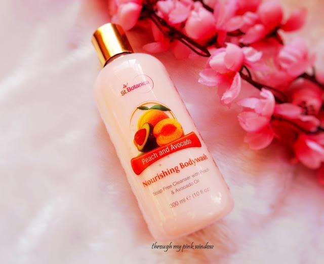 St. Botanica Peach and Avocado Nourishing Body Wash : Review