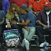 Jay Z lovingly cradles Beyonce's baby bump at NBA game