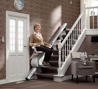 Proste i funkcjonalne krzesełko schodowe HomeGlide