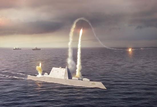 Kapal Kelas Zumwalt DDG 1000