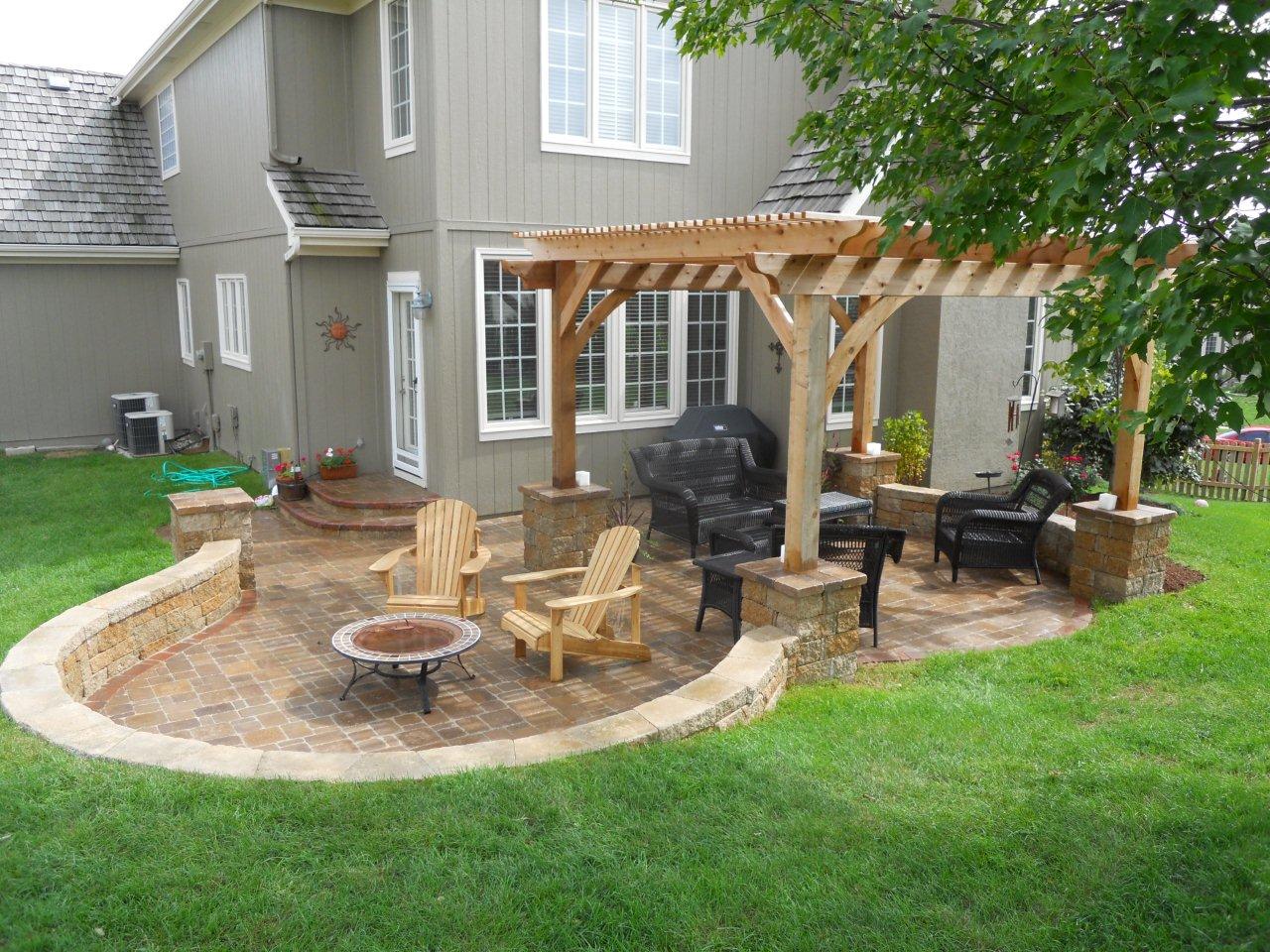 Maximize Comfort on Backyard Patio Ideas, Patio Ideas on a ...