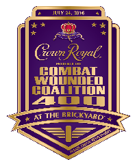 Crown Royal Presents the Combat Wounded Coalition 400 #NASCAR