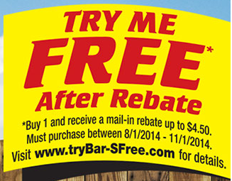 Five Free Bar-S Products After Mail in Rebate