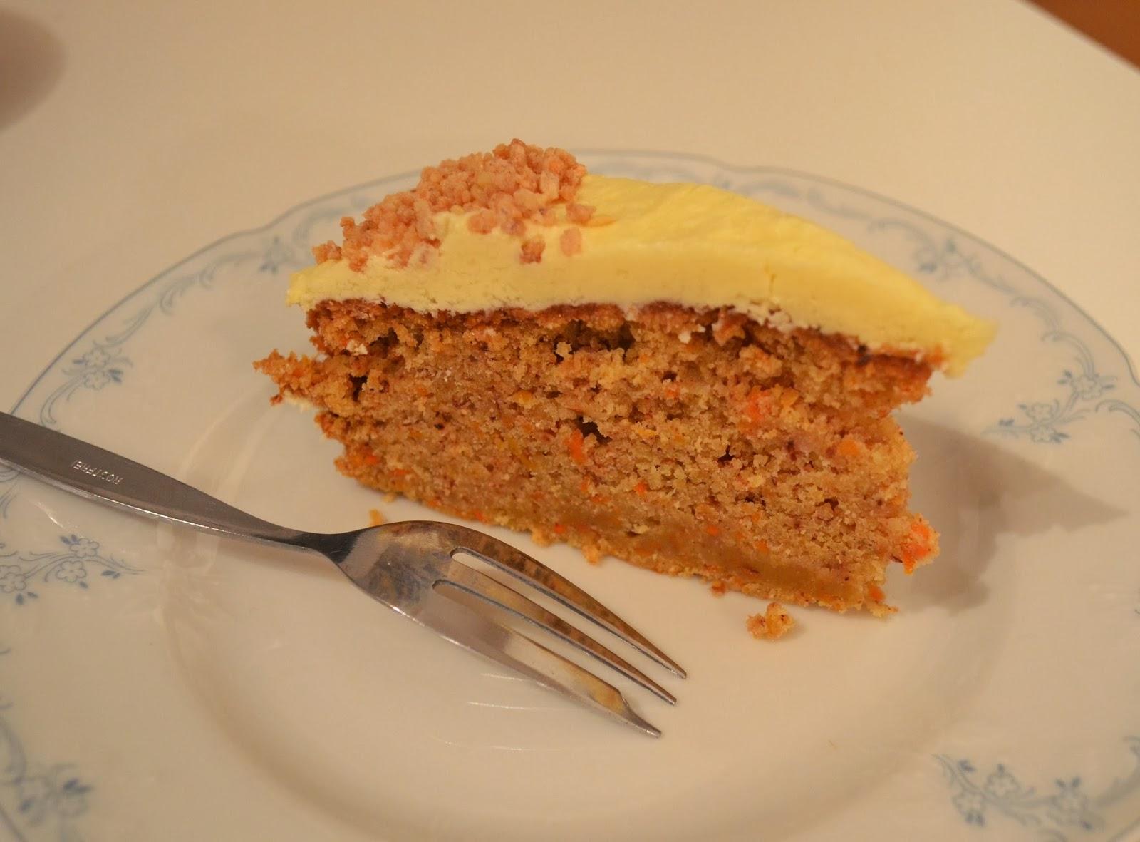 Vegan Cooking Mohren Nuss Kuchen Mit Vanilla Frosting