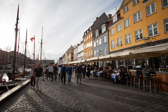 Canale Nyhavn a Copenhagen