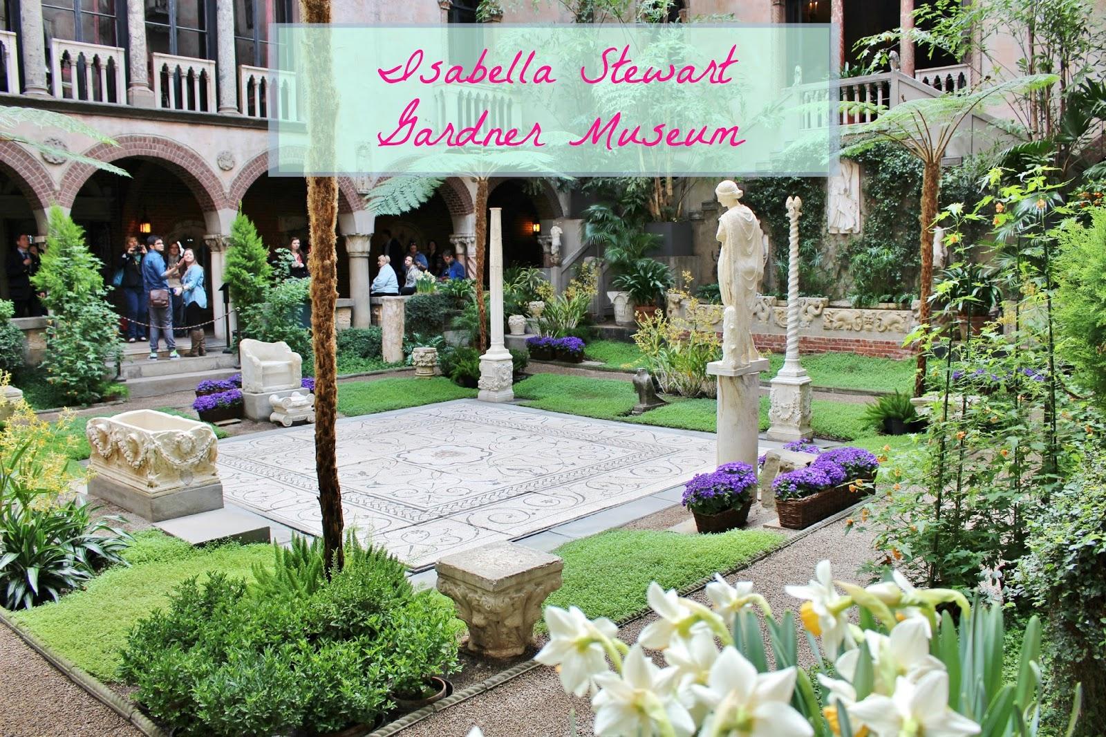 bijuleni - Isabella Gardner Museum Courtyard, Boston