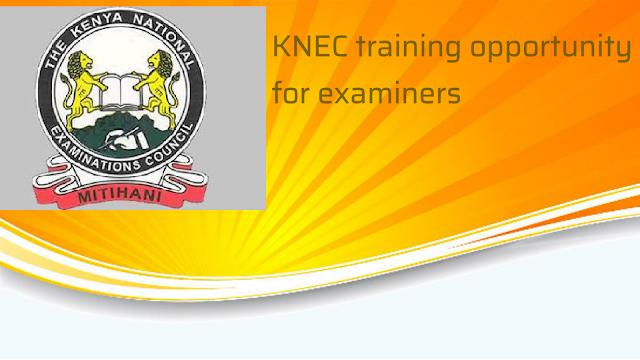 KNEC examiners 2018