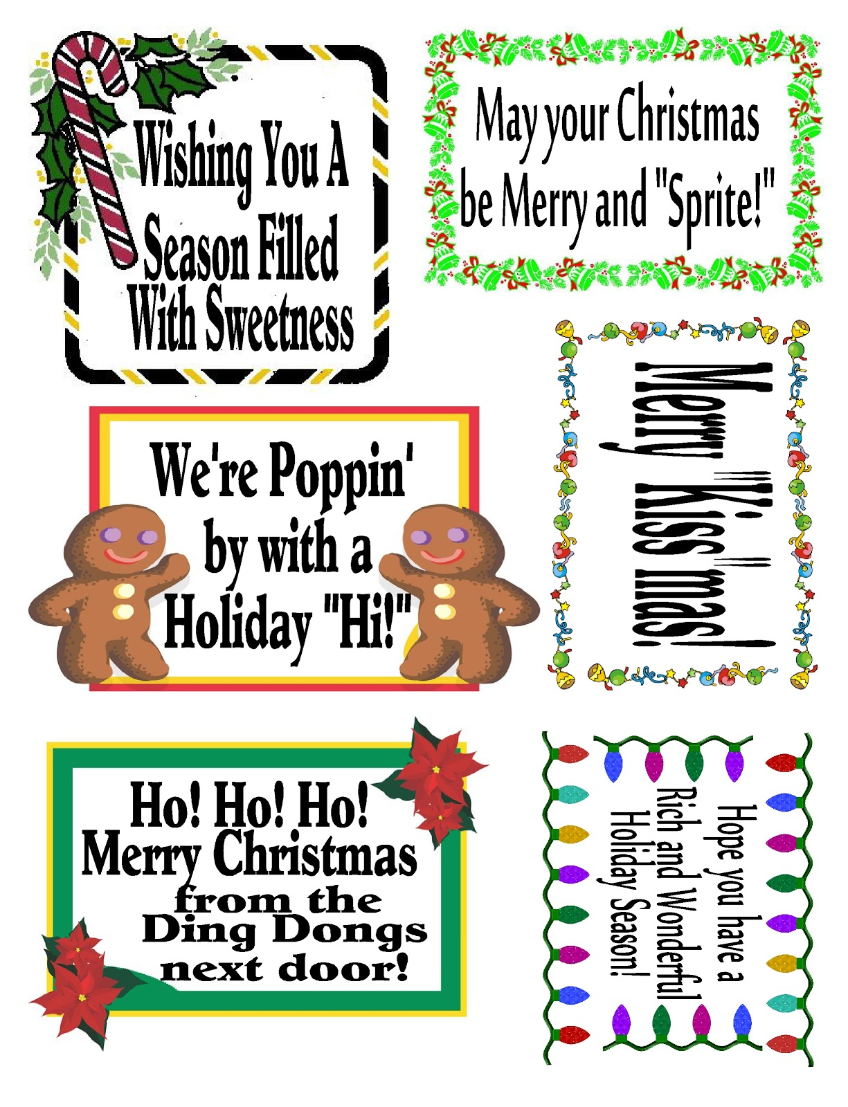 Diy Party Mom Last Minute Neighbor Gift Ideas And Printable