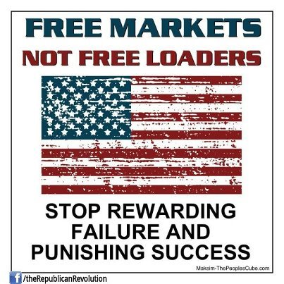 Free Markets Not Free Loaders