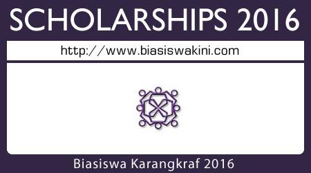 Biasiswa Karangkraf 2016