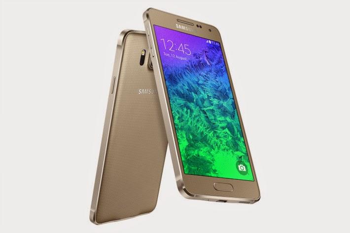 Spesifikasi dan Harga Samsung Galaxy Alpha