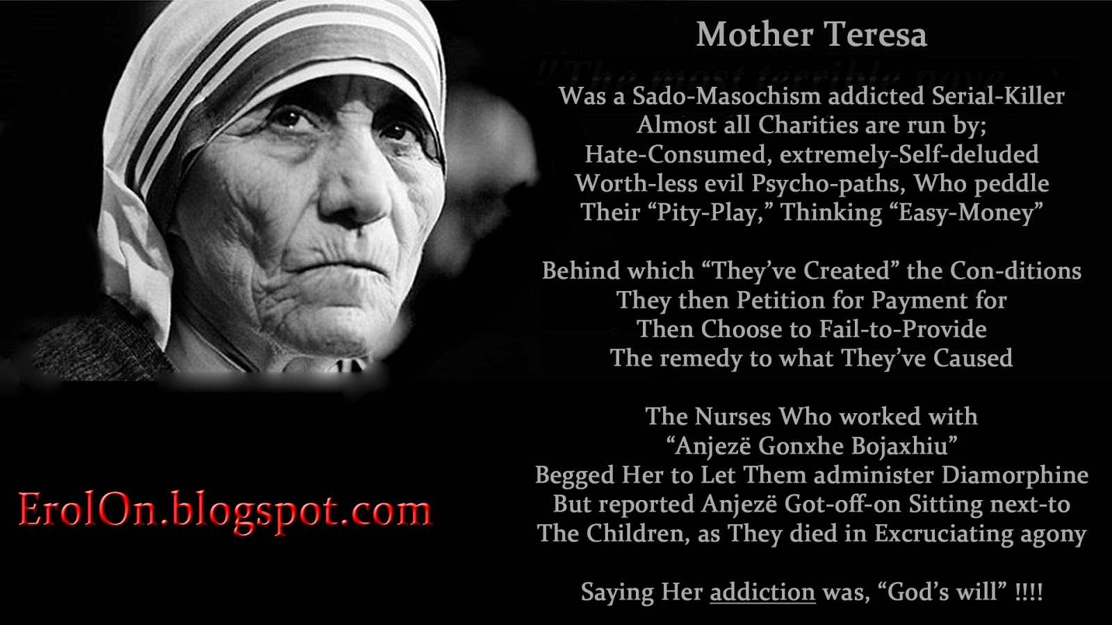 Mother teresa lost faith