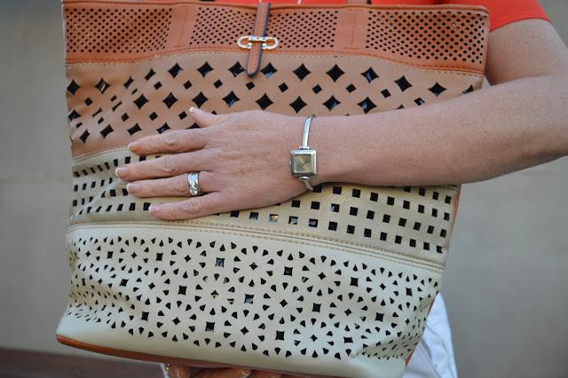 Sydney Fashion Hunter - The Wednesday Pants #48 - Citrus Crush - Sash & Belle Tote