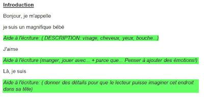 #Classedugoût et projet Expression Écrite 1