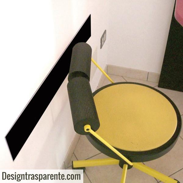 battisedia proteggi muro per ufficio