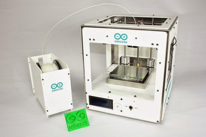 Maker最愛的開源硬體Arduino也推3D列印機