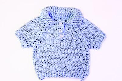 4 - Crochet IMAGEN Jersey de niño y niña a crochet muy facil y rapido