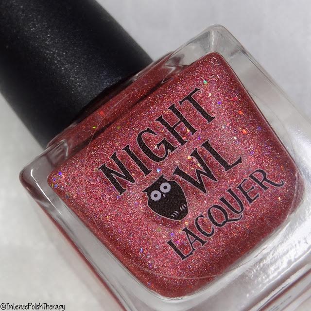 Night Owl Lacquer Holo Love | Holo-Maniacs Custom