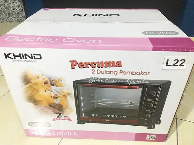 Husband Hadiahkan Oven. Motif?