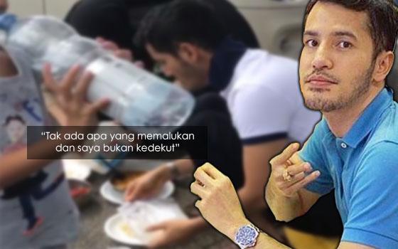 Isu Makan Tepi Jalan, Dato' Aliff Syukri Balas Teguran Chef Wan