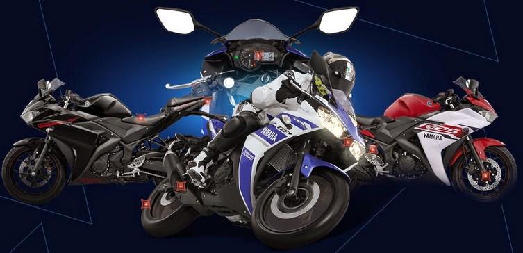 Yamaha siapkan 2 motor sport terbaru Yamaha R25 dan R15