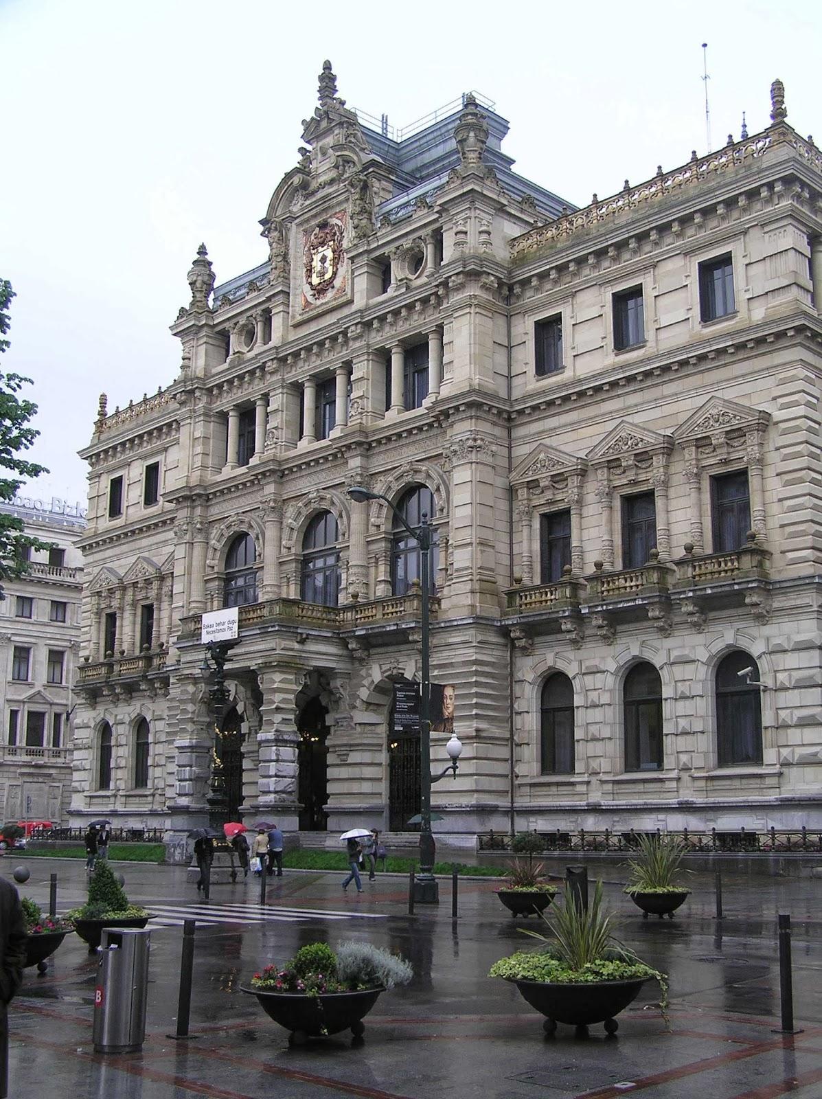 El Palacio de la Diputación Foral de Vizcaya.