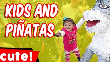 Kids and Pinatas | Funniest Kid Fails Compilation