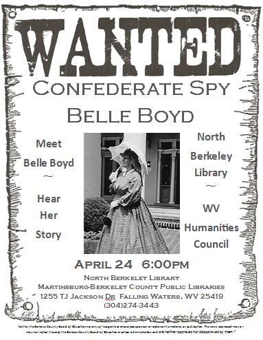 Elizabeth Van Lew: The Story Of The Southern Belle Turned ...  |Belle Boyd Poster