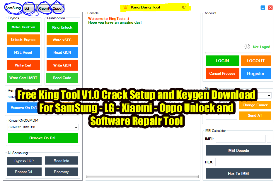 King Tool Latest Full Crack Setup Download