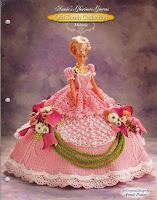 Vestido de Crochê Para Barbie de Annie Potter - Old South Collection