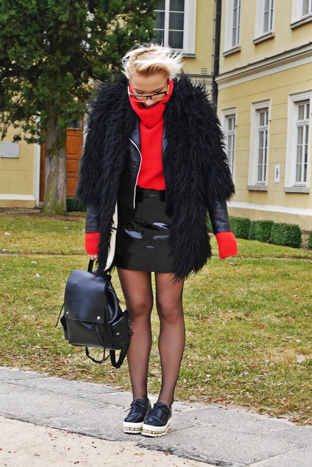 czarne_futerko_spodnica_cerata_look_karyn_blog_160317c