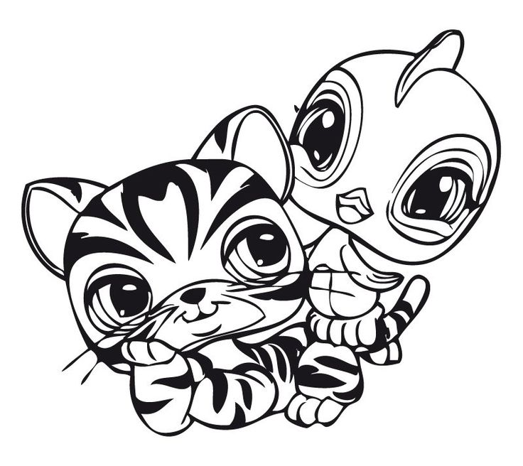 Littlest pet shop LPS blogi: Lps värityskuvia / coloring pictures