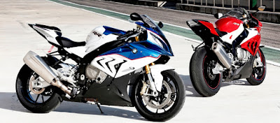 BMW S1000RR Two shades bike