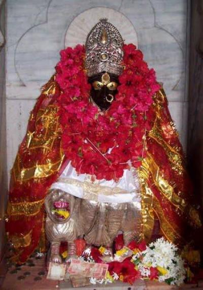 Hindu Goddess kamakhya image