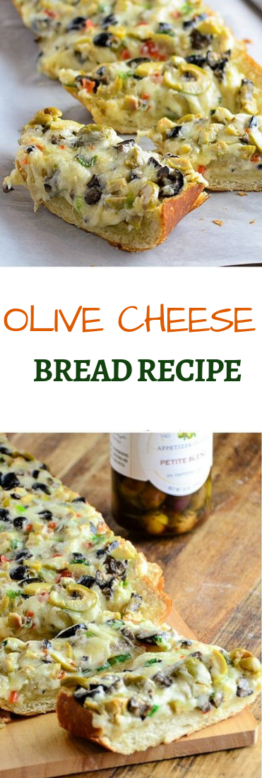 OLIVE CHEESE BREAD RECIPE