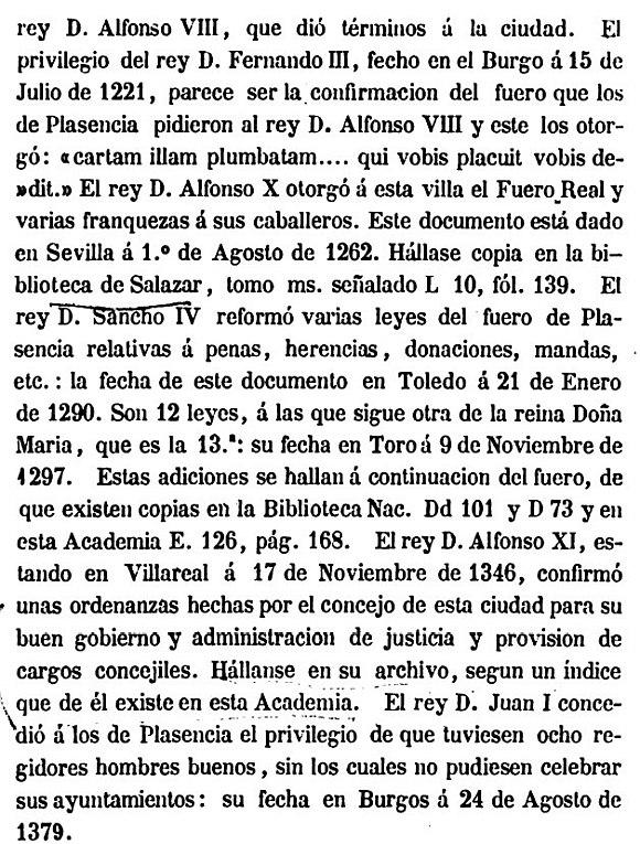 EXTREMADURA EN LA COLECCIÓN DE FUEROS Y CARTAS PUEBLAS DE ESPAÑA POR LA REAL ACADEMIA DE LA HISTORIA, 1852