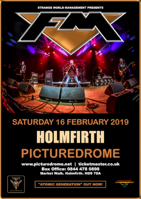 FM at Holmfirth Picturedrome - 16 February 2019 - poster