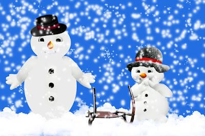 Schnee, Schneefall, Männer